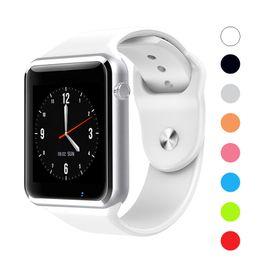 $enCountryForm.capitalKeyWord Australia - A1 Smartwatch Bluetooth Smart Watch Men Women Kids Sport Fitness Tracker Sleep Tracker Full-Function Smart Watches For iOS Android