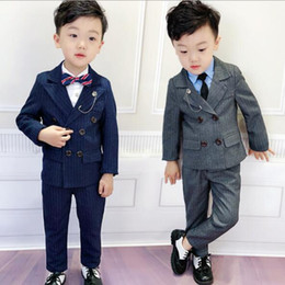 $enCountryForm.capitalKeyWord Australia - 2019 New Boys Clothes Baby Boys children's clothing for party and wedding kids Suit 2piece Sets coat+pants