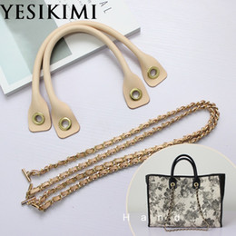 $enCountryForm.capitalKeyWord NZ - 1 Set DIY Replacement Bag Accessories For Luxury Bags Genuine Leather Handle Chain Strap