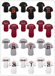 5d98bcc8a Black Diamondbacks Jersey NZ - custom Men s women youth Arizona  Diamondbacks Jersey  7 Welington Castillo