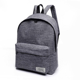 Red mini laptop online shopping - Gusure Canvas Backpack Men Women College High Middle School Bags For Teenagers Laptop Casual Travel Backpacks Rucksacks
