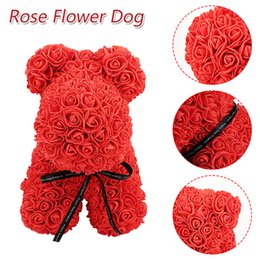 Dog Dolls Gift Birthday Lovely PE Rose Romantic ValentineS Day Artificial Simulated Girlfriend Decorations Love Toy