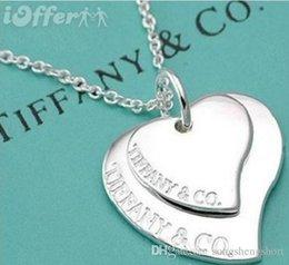 4c65e75e30dd Clásico de moda Rotar Bailar + Piedra tiffany925 Collar Colgante de Plata  de ley Para Las