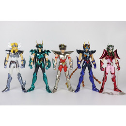 $enCountryForm.capitalKeyWord Australia - Great Toys GT Saint Seiya V3 Version Final Cloth EX Metal Armor Bronze Myth Cloth Action Figure Toys Shiryu Hyoga Shun Ikki