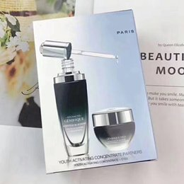 Skin care kitS online shopping - 2019 Top skin care kit Frace Advance Youth activating concentrate partners Face Cream Moisturizing And Eye Cream