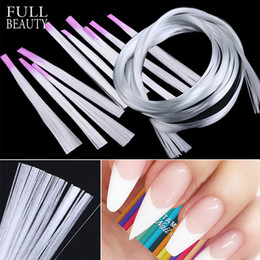 $enCountryForm.capitalKeyWord NZ - Professional Silk Fiberglass Nail Form Acrylic Tips Extension Gel Nail Accessory Glass Fiber Extension Paper Tool CH952-1