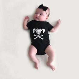 $enCountryForm.capitalKeyWord Australia - Stylish Toddler Infants Baby Boys Girls Clothes Skull Print Romper Halloween Costume Outfits Children's Clothing Babies Cloth