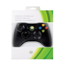 $enCountryForm.capitalKeyWord Australia - Brand New Genuine Xbox 360 Wired Wireless Controller For Microsoft Xbox 360 Console Windows Game System Gamepad (White Black)