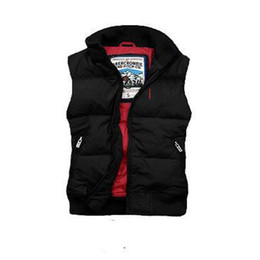 Wholesale green anorak jacket resale online – New arrival Autumn Winter brand M men s vest down Coats Warm Plus Man Down and parka anorak vest gillets Winter warm jacket