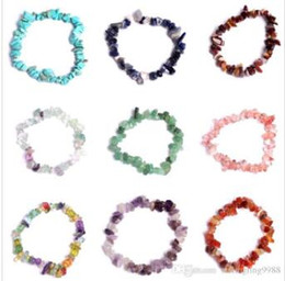 $enCountryForm.capitalKeyWord NZ - Natural Healing Crystal Bracelet Sodalite Chip Gemstone 18cm Stretch Bracelet Natural Stone Bracelets Mixed Gemstone Chakra Bracelet