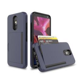 $enCountryForm.capitalKeyWord Australia - Wallet Credit Card Holder Shockproof Heavy-Duty Protective Hybrid Cover Kickstand Case for LG Stylo5 K40 MOTO G7 G7 PLAY G7 PLUS G7 POWER
