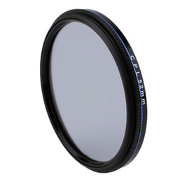 camera lens 77mm filter UK - Freeshipping Super Thin 49 52 55 58 62 67 72 77MM Waterproof Circular Polarizer CPL Camera Lens Filter For Canon For Sony Camera Lens