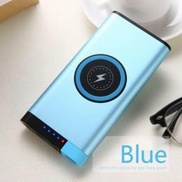 Xiaomi Mah Power Bank Australia - 6 Color Fashion Hot 12000 mAh Portable Wireless Power Bank Dual Fast Charge Alloy Shell Powerbank For Xiaomi MI iPhone Samsung