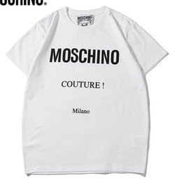 $enCountryForm.capitalKeyWord Australia - 2019 new BB brand mosc Men Designer T Shirts Fashion women Clothing Summer Color printing Casual T Shirt Cotton Blend Crew Neck Short Sleeve