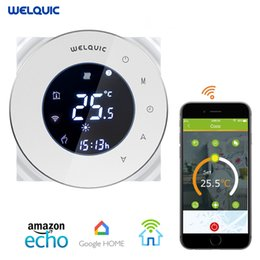 $enCountryForm.capitalKeyWord Australia - Welquic WiFI Smart Digital Thermostat Touch Screen Room Heating Programmable Thermostat Room Temperature Controller