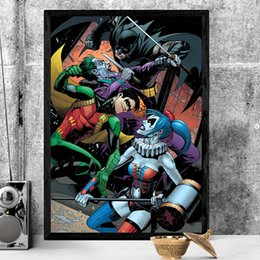 joker canvas print NZ - Joker Dick Grayson Vintage Marvel Movie Art Canvas Poster Wall Picture Print Picture For Living Room Home Bedroom Decoration