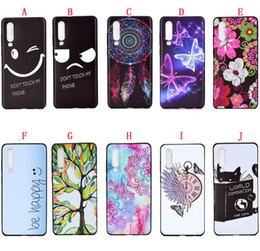Wholesale cat case soft galaxy for sale - Group buy Cartoon Soft TPU Case For Samsung Galaxy S10E S10 PLUS Huawei P30 PRO Honor LITE Y9 I A Flower Butterfly Cat EYE Cover Skin