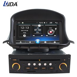 Discount dvd gps peugeot - LJDA 1 din 7 Inch Android 6.0 Car DVD Player For Peugeot 206 206CC Auto Radio Audio Bluetooth Canbus GPS Navigation Quad