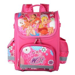 New Books UK - Fashion Children School Bags For Girls Boys New Kids Orthopedic Backpack Monster WINX Book Bag Princess Waterproof Schoolbags