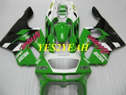 $enCountryForm.capitalKeyWord UK - Fairing body kit for KAWASAKI Ninja ZX6R 636 94 95 96 97 ZX 6R 1994 1997 Green black Fairings bodywork+Gifts KS06