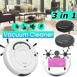 Smart Hair Australia - Rechargeable Auto Cleaning Robot Smart Sweeping Robot Floor Dirt Dust Hair Noiseless Vacuum Sweeper for Home Office Cleaner