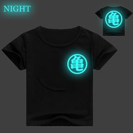 $enCountryForm.capitalKeyWord Australia - Z 3D Print Kids T Shirt Baby Boy Girl Cartoon T-shirt Summer Luminous Short Sleeve Tee Shirts Cute Children Clothes