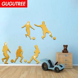 $enCountryForm.capitalKeyWord NZ - Decorate Home 3D kongfu cartoon mirror art wall sticker decoration Decals mural painting Removable Decor Wallpaper G-339