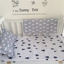 Wholesale New Arrived Hot Ins crib bed linen baby Bedding set include pillow case bed sheet without filling