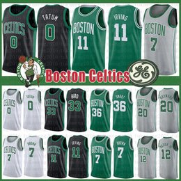 Venta al por mayor de 11 Ncaa Kyrie Jayson 0 Tatum Irving Jersey Larry 33 Bird Marcus 36 Smart Gordon 20 Hayward Al 42 Horford Jaylen 7 Brown Terry 12 Rozier III