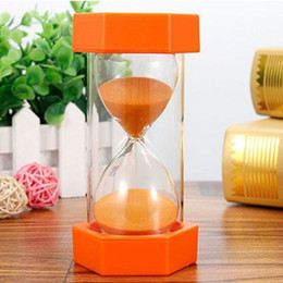 $enCountryForm.capitalKeyWord Australia - Hexagonal Sand Timer Kitchen Timer Kid Gift Sand Clock 5 10 15 mins Game Desktop Ornaments Household Hourglass Drop Resistance