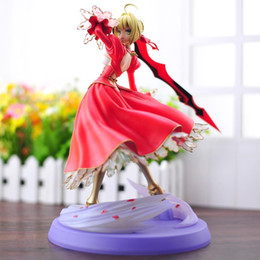$enCountryForm.capitalKeyWord Australia - Fate Stay Night nero claudius Fate EXTRA Saber NERO PVC Action Figures toys Anime figure Toy For Kids children Christmas Gifts
