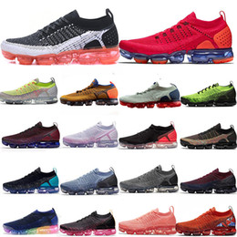 Duck shoes women online shopping - 2019 Knit Fly Running Shoes Sports Bumblebee Neptune Blue Fireworks Purple mandarin duck Pigeon For Men Women Casual Shoes
