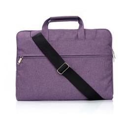Laptop Air Australia - Handbag with straps Notebook Bag 13.3 15.4 Case For New Macbook Air Pro 13 15,Women Men Laptop Sleeve 11 12 13 14 15 inch