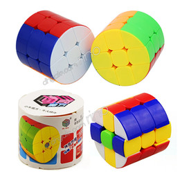$enCountryForm.capitalKeyWord Australia - Cylinder Magic Cube Cylindrical Puzzle Cube Colorful Learning Educational Intelligence Game Decompression Anti Stress kids Toys Adults Gifts