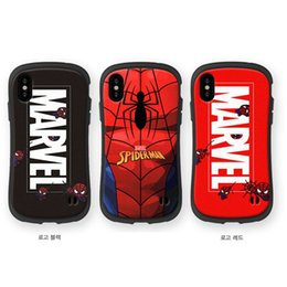 iface case iphone 6s plus Canada - Free Shipping Small waist Soft Silicon Super Hero Marvel Spiderman Phone case iface cover for iphone X XR XS Max 6 6s 7 8 Plus cases