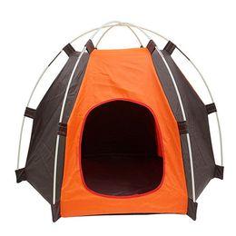 $enCountryForm.capitalKeyWord Australia - Portable Folding Pet Dog Cat Outdoor Tent Camping Mesh Playpen Fun Carry bag Playpen Puppy Kennel Fence Outdoor Pet Supplies