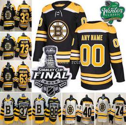 Patch finale di Boston Bruins Neely Zdeno Chara David Pastrnak Krejci Brad Marchand Charlie Coyle McBoy DeBrusk Tuukka Rask Krug Wagner Jersey in Offerta
