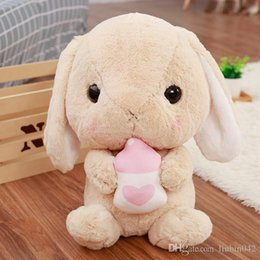 $enCountryForm.capitalKeyWord Australia - 20170633 Japanese Loppy Rabbit Doll Plush Toy Long Ear Rabbit Pillow Toy Cute Lovely Small Soft