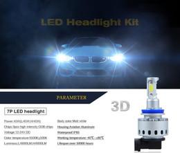 Lamp H4 Australia - 2017 NEWEST 3D LED Car Headlight Bulb Lamp Light Kit H7 H8 H9 H11 HB3 9005 HB4 9006 H4 All in one Auto Car LED DRL Fog Light