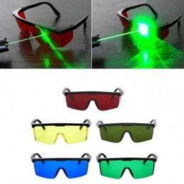face mask for protection 2019 - Laser Safety Glasses 4 Colors Welding Goggles Sunglasses Eye Protection Working Welder Adjustable Safety Glasses OOA6082