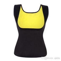 Body Fitness Suit Australia - Body Shaper Slimming Corset Tummy Sweat Belt Modeling Strap Waist Straps Slimming Fitness Belly Strap Sauna Suit Women Tops