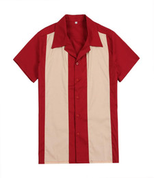 $enCountryForm.capitalKeyWord Australia - 2019 New Hit color short sleeve casual shirts red uk rock n roll designer button up party club wear for men