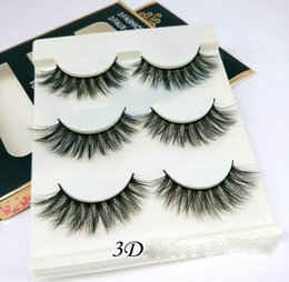 $enCountryForm.capitalKeyWord Australia - 3D False Eyelashes 21 Styles Handmade Beauty Thick Long Soft Makeup Lashes Fake 3D Mink Sexy Extension Eye Lashes Eyelash 3pairs set