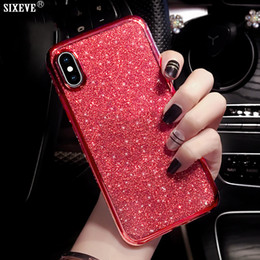 bumper case for cell phones Australia - Luxury Case For iPhone XS Max X XR 6 S 6S 8 7 Plus 6Plus 7Plus 8Plus Cell Phone Soft Silicone Back Cover Diamond Coque Bumper