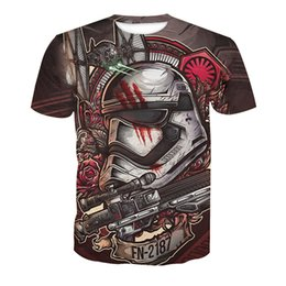 479008c169bc Men T-shirt Rose Gun 3D Digital Full Printed Man Graphic Tee Shirt Casual  Tops Unisex Short Sleeves Tees T-Shirts Blouse (RT-0546)