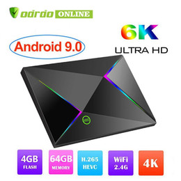 Android Tv Usb Player Australia - Allwinner H6 Android 9.0 TV Box 6K Ultral HD Streaming Media Player 4GB 32GB 64GB Quad Core Mini PC 2.4G Wifi M9S Z8 Set Top Boxes USB 3.0