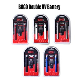 $enCountryForm.capitalKeyWord Australia - BOGO Double Battery Charger Kit 400mAh E Cigarette Batteries Vape Pen Preheat Battery Voltage Adjustable Battery For Thick Oil Cartridge