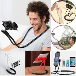 Tablet Arm Stand Australia - Flexible Long Arms Lazy Stand Clip Holder for Mobile Phone Tablet PC Desktop bed