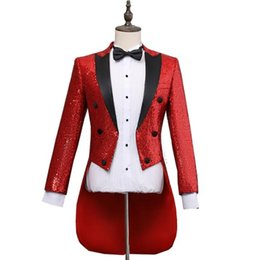 Chinese  Blazer men formal dress latest coat pant designs marriage Sequined tuxedo suit men masculino trouser wedding suits for men's manufacturers