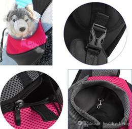 $enCountryForm.capitalKeyWord Australia - Pet Carrier Cat Puppy Small Animal Dog Carrier Sling Front Mesh Travel Tote Shoulder Bag Backpack Shoulder Bag Pet Outdoor Backpack